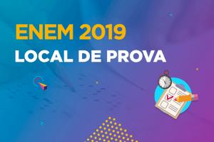 Local de prova do Enem 2019