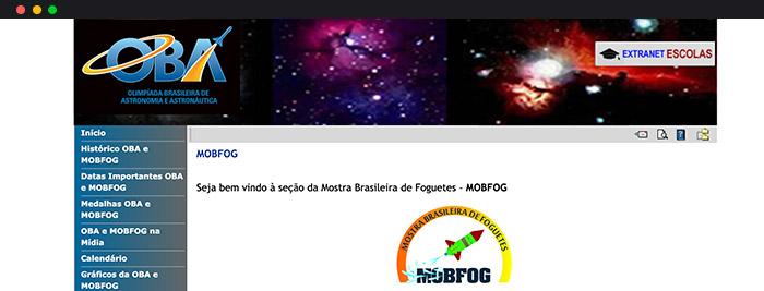 Olimpíadas De Astronomia Mostra Brasileira De Foguetes