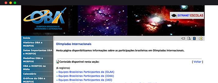 Olimpíadas De Astronomia Olimpíada Internacional De Astronomia E Astrofísica