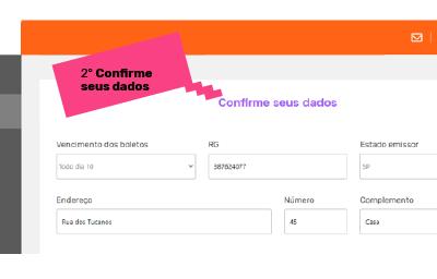 Tela do processo de contratação do Pravaler no Portal do Aluno